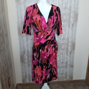 Maggy L Women's Printed Dress Size 10